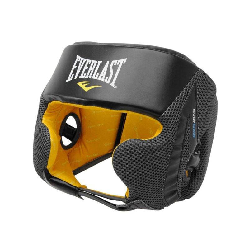 Černo-žlutá boxerská přilba Everlast