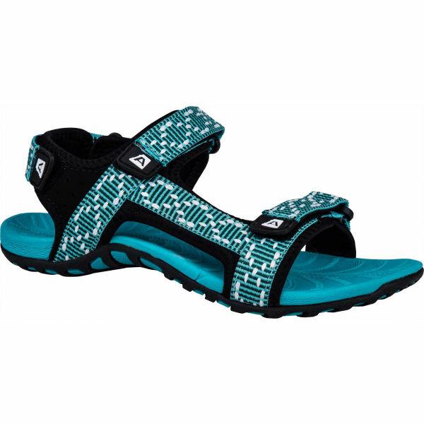 Zelené dámské sandály Alpine Pro