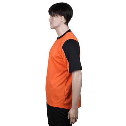 Oranžový dětský fotbalový dres Dynamo, Merco - velikost 176