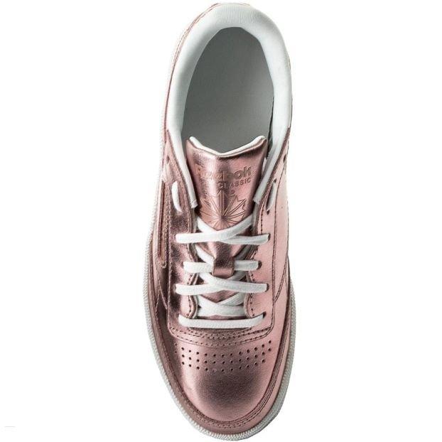 Růžové dámské tenisky Club, Reebok - velikost 37,5 EU