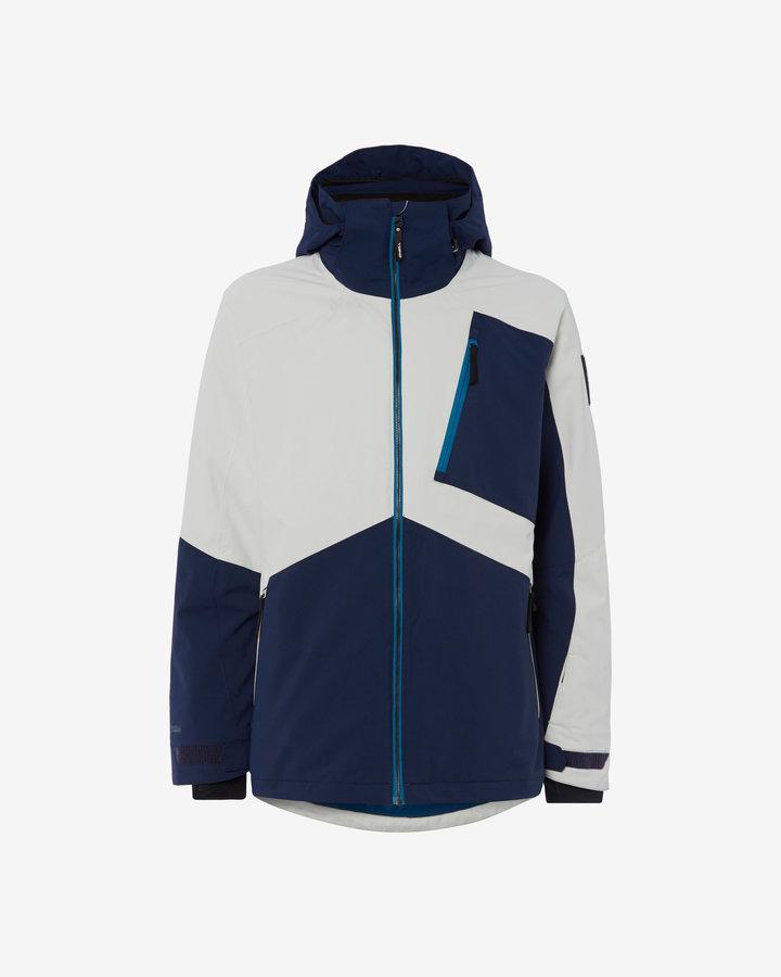 Bílo-modrá pánská lyžařská bunda O'Neill