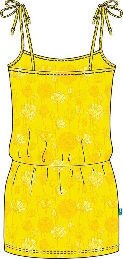 Žluté dámské šaty Loap