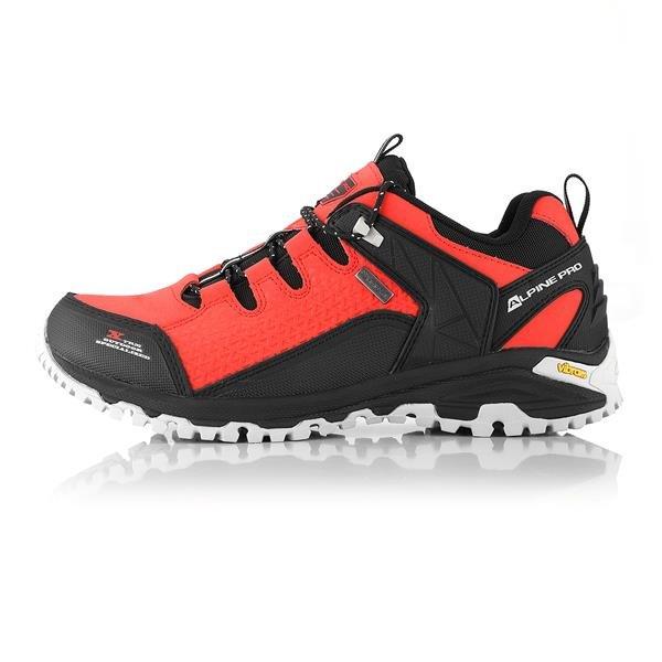 Oranžové nepromokavé trekové boty Alpine Pro