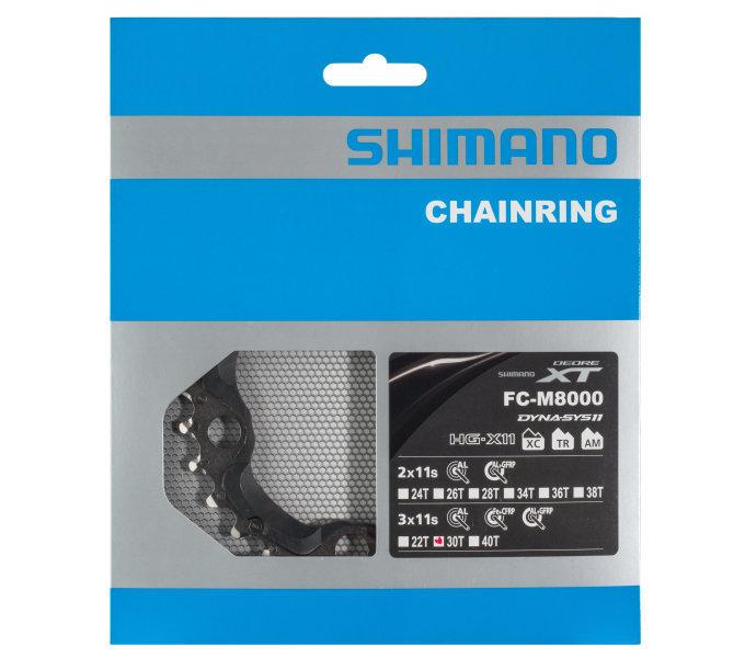Převodník na kolo - Shimano-servis převodník 30z Shimano XT FC-M8000 3x11 4 díry