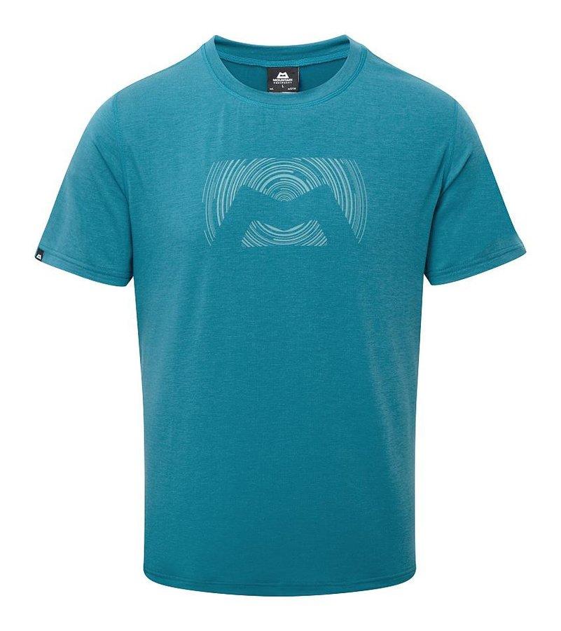 Modré pánské turistické tričko s krátkým rukávem Mountain Equipment - velikost XL