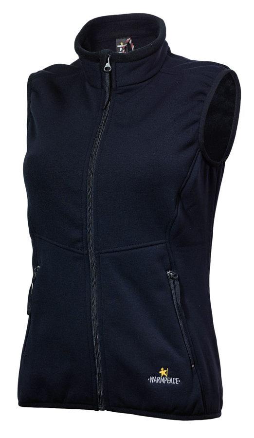 Modrá dámská vesta Warmpeace