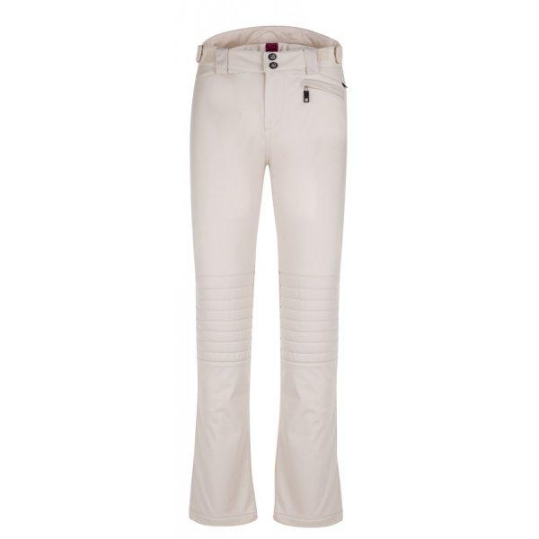 Bílé softshellové dámské kalhoty Loap - velikost XL