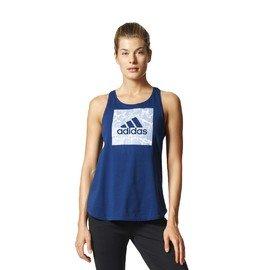 Modré dámské tílko Adidas