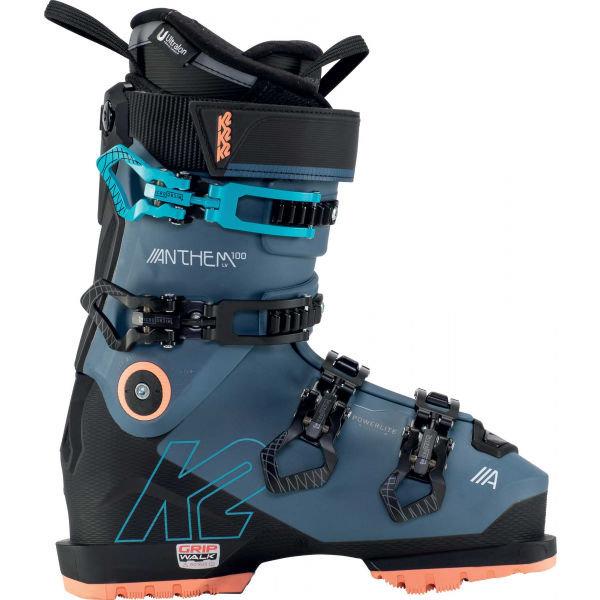 Modré dámské lyžařské boty K2