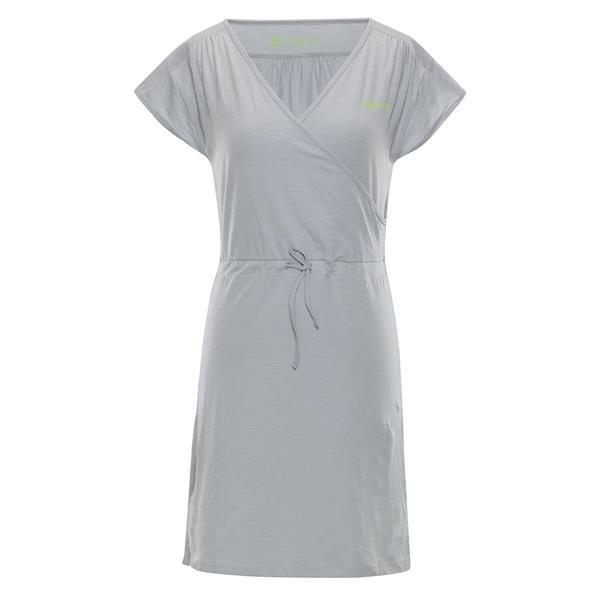 Šedé dámské šaty Alpine Pro