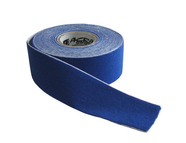 Modrá tejpovací páska Acra - délka 5 m a šířka 2,5 cm