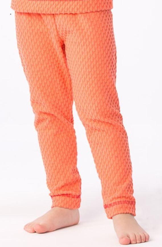 Oranžové dívčí funkční kalhoty O'Style - velikost 128