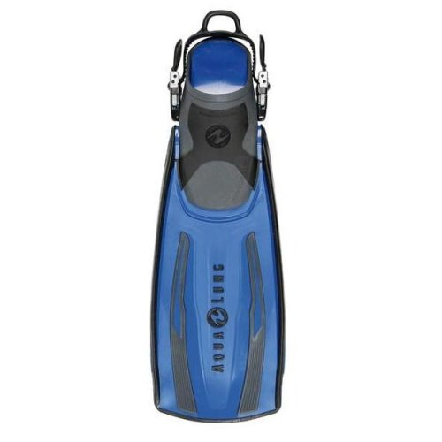Modré dlouhé potápěčské ploutve STRATOS ADJ, TECHNISUB