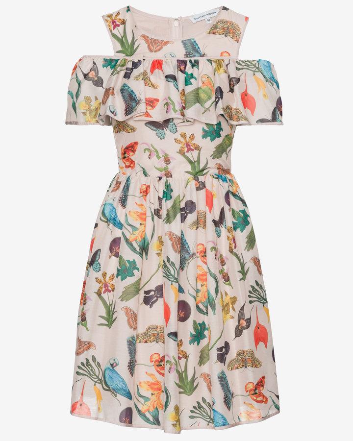 Různobarevné dámské šaty Silvian Heach - velikost XXS