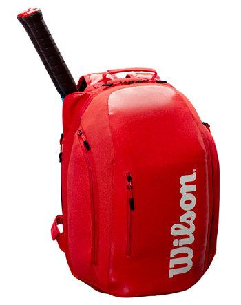 Tenisový batoh - Wilson Super Tour Backpack 2019 červený