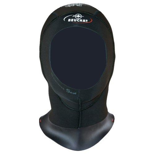 Černá neoprenová kukla Focea Comfort 4, Haubna