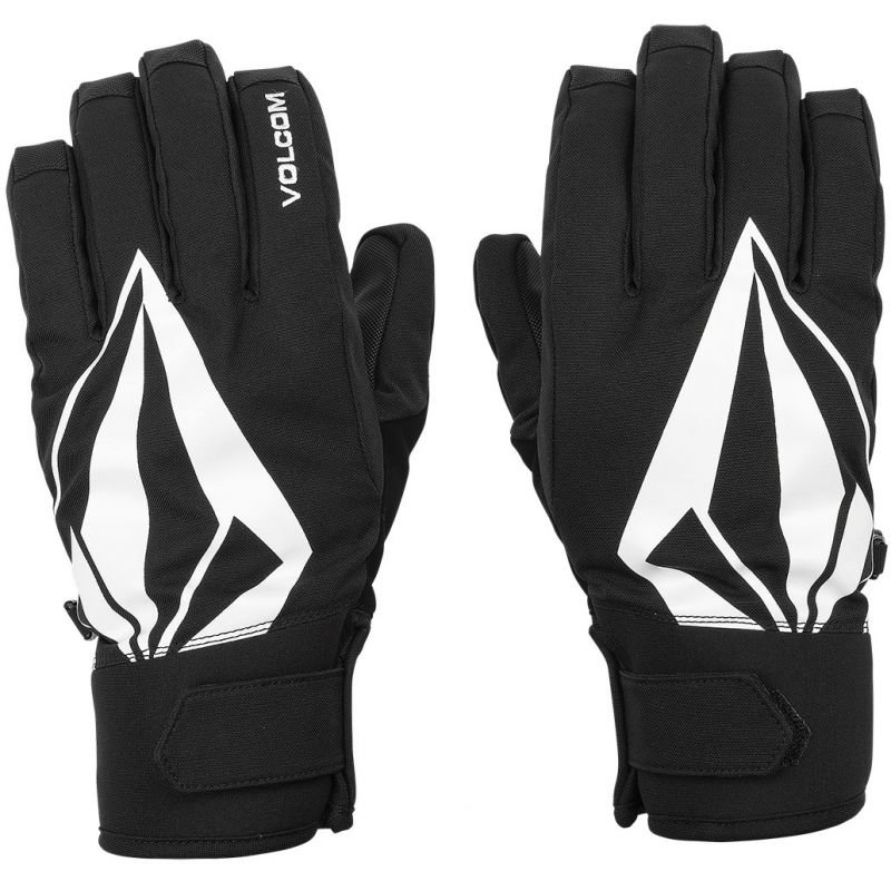 Černé zimní rukavice Volcom - velikost L