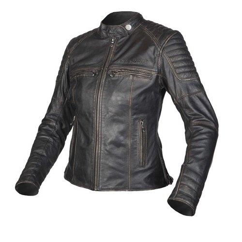 Černá dámská motorkářská bunda Hunter, Rebelhorn - velikost L