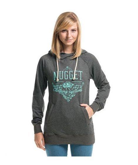 Šedá dámská mikina Nugget - velikost S