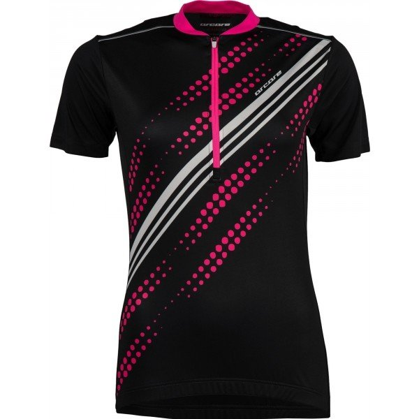 Černo-růžový dámský cyklistický dres Arcore