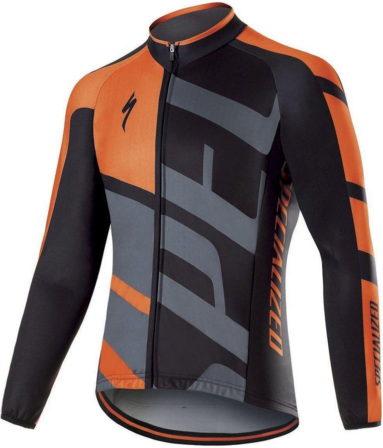 Šedý pánský cyklistický dres Specialized - velikost M