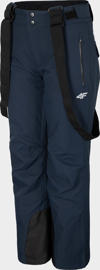 Modré dámské lyžařské kalhoty 4F - velikost XL