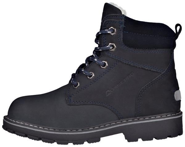 Modré dětské dámské zimní boty Alpine Pro - velikost 32 EU