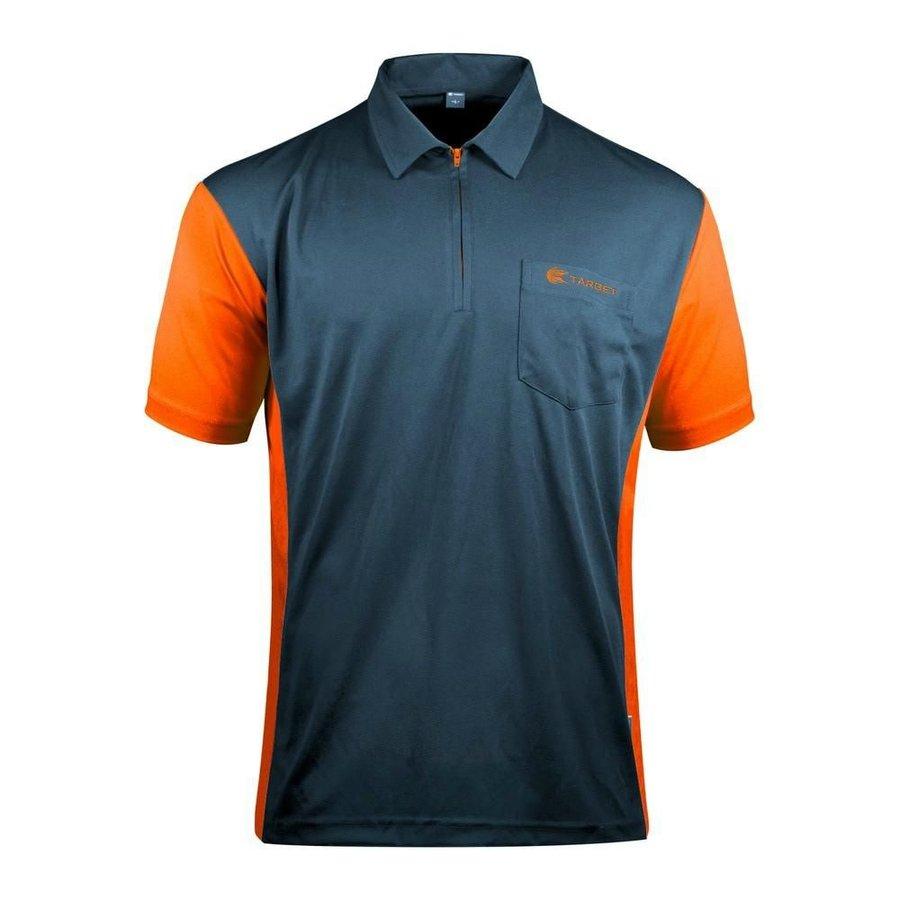 Oranžovo-šedý šipkařský dres Target Darts