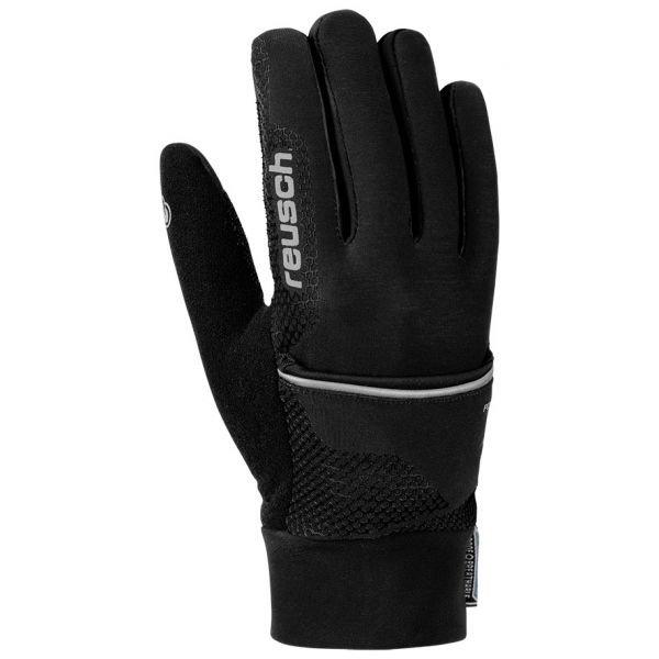 Černé pánské lyžařské rukavice Reusch - velikost 6