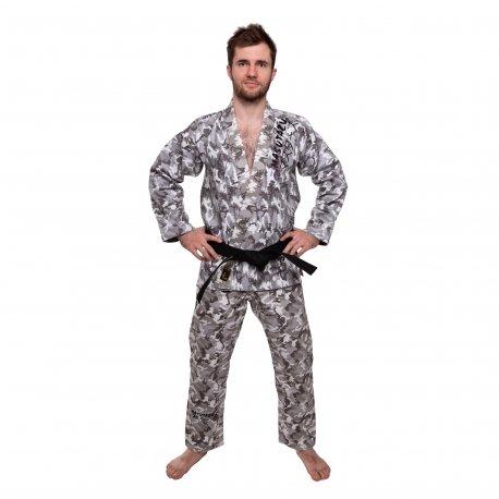 Šedé kimono na jiu-jitsu MASUTAZU