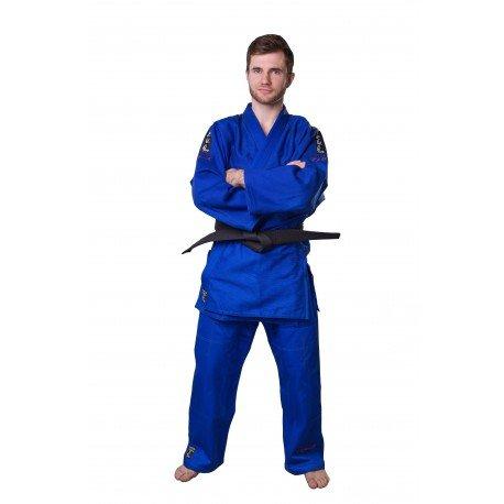 Modré kimono na judo MASUTAZU