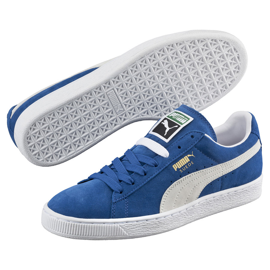 Modré pánské tenisky Classic, Adidas, Puma