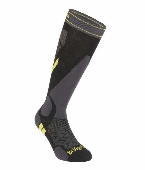 Šedé pánské lyžařské ponožky Bridgedale