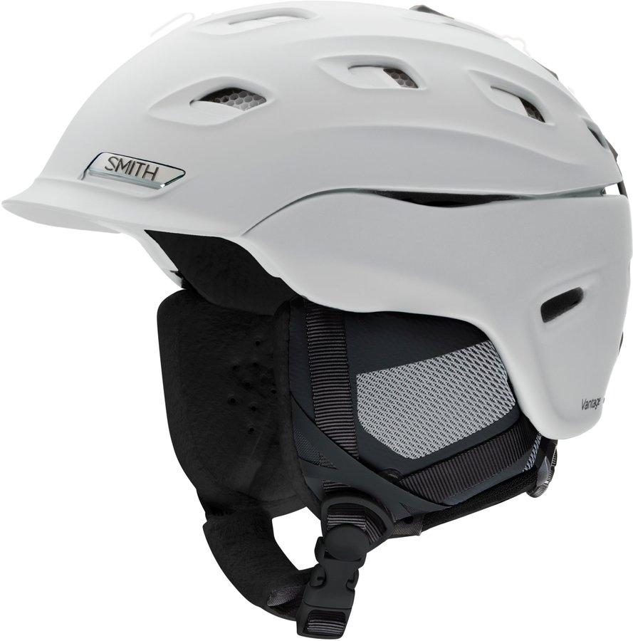 Bílá dámská helma na snowboard Smith - velikost 55-59 cm