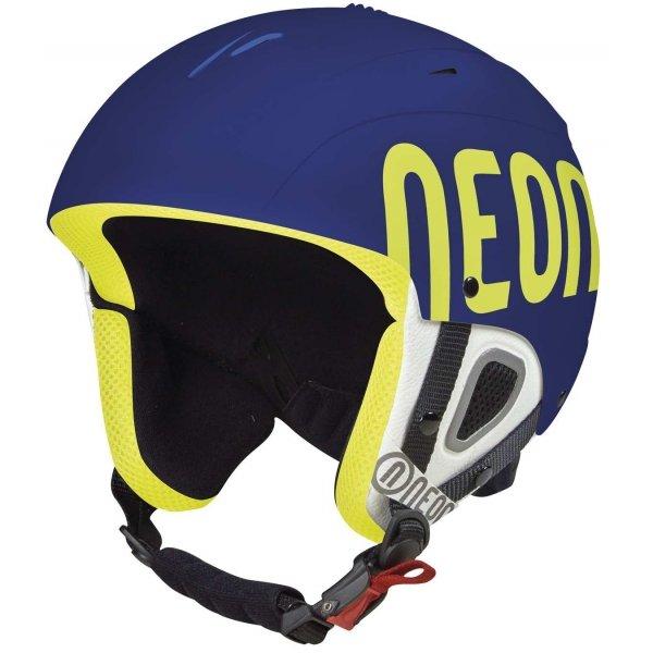 Modrá lyžařská helma Neon