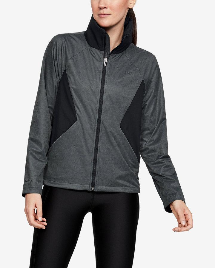 Černo-šedá dámská bunda Under Armour - velikost S