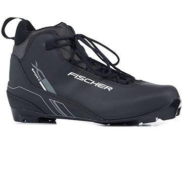 Černé pánské boty na běžky Fischer - velikost 44 EU