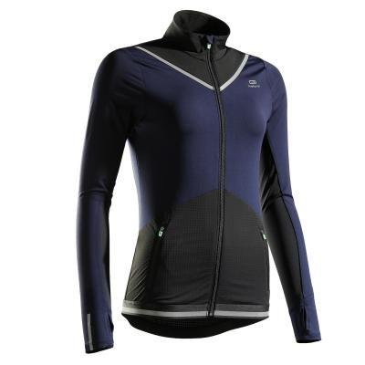 Modrá běžecká bunda Kiprun, Kalenji - velikost 40