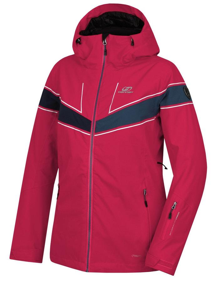 Růžová zimní dámská bunda Hannah