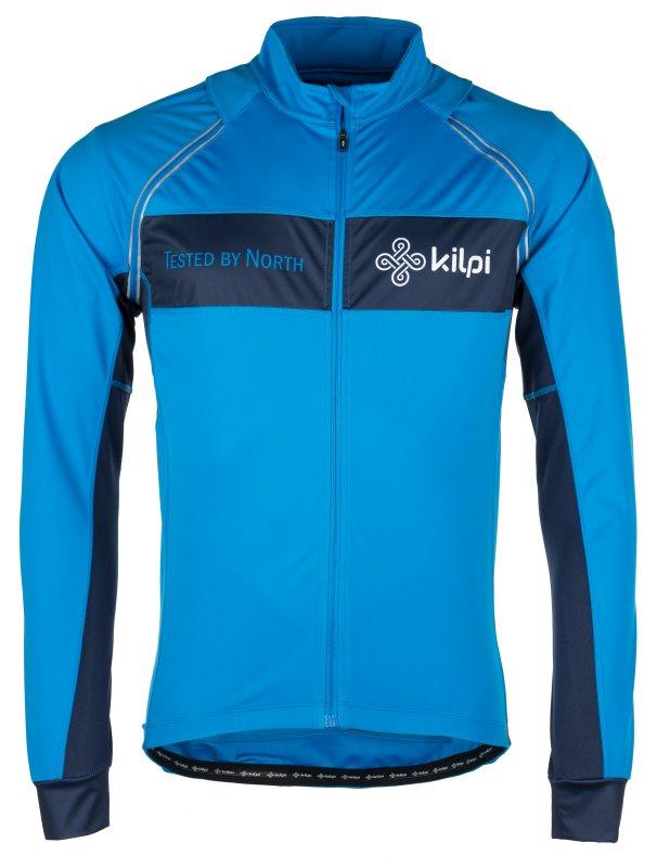 Modrá pánská cyklistická bunda Kilpi - velikost S