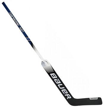 Brankářská hokejka - Brankářská hokejka Bauer Supreme S27 SR černá L (normální gard) 25 palců