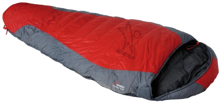 Červený spací pytel Warmpeace - délka 205 cm