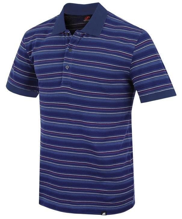 Modré pánské tričko s krátkým rukávem Hannah