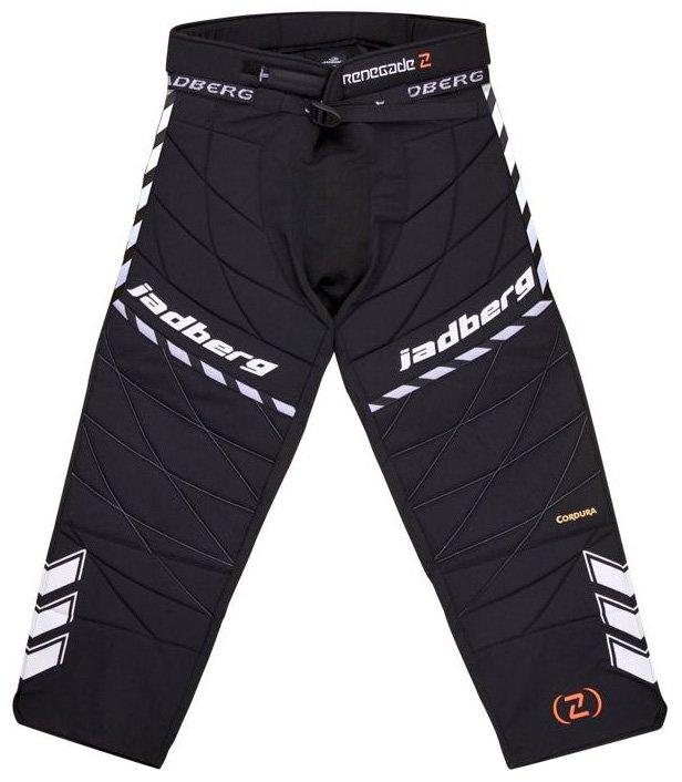 Černé dětské brankářské florbalové kalhoty Renegade 2, Jadberg - velikost 130