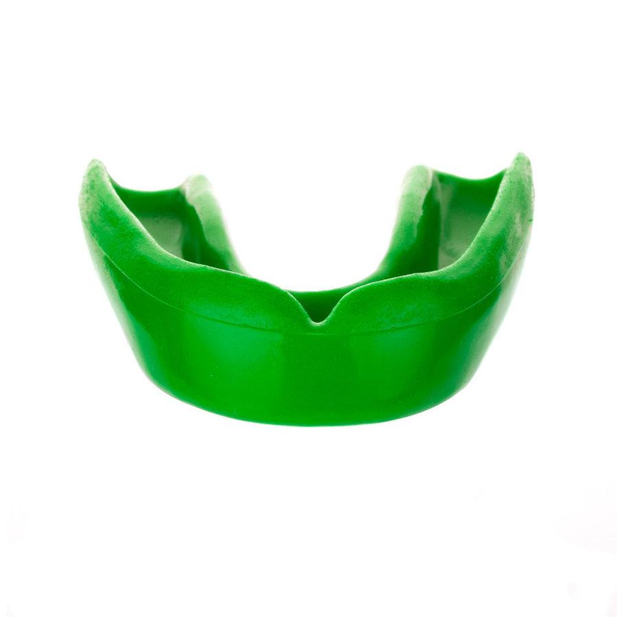 Zelený chránič na zuby na bojové sporty Paffen Sport