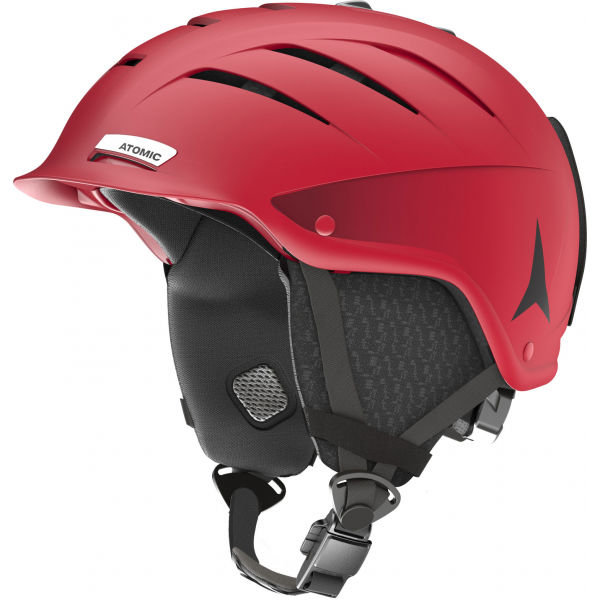 Červená lyžařská helma Atomic - velikost 59-62 cm