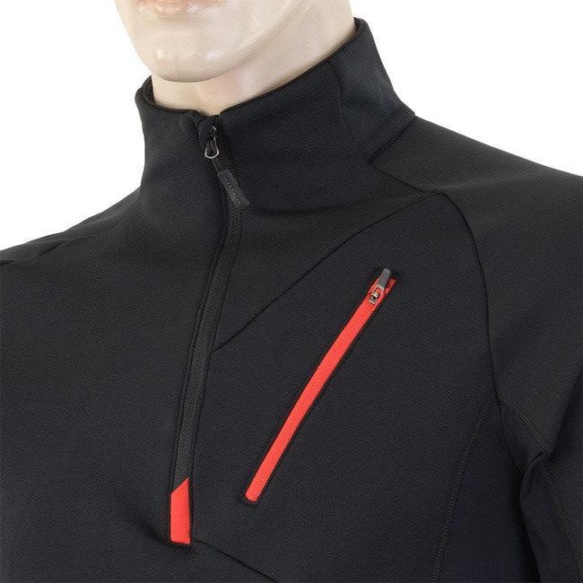 Červená pánská mikina Sensor - velikost XXL