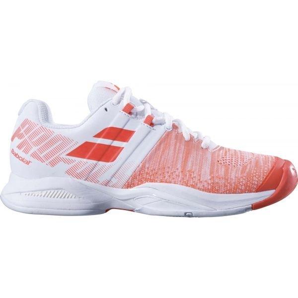 Bílo-oranžová dámská tenisová obuv Babolat - velikost 37 EU