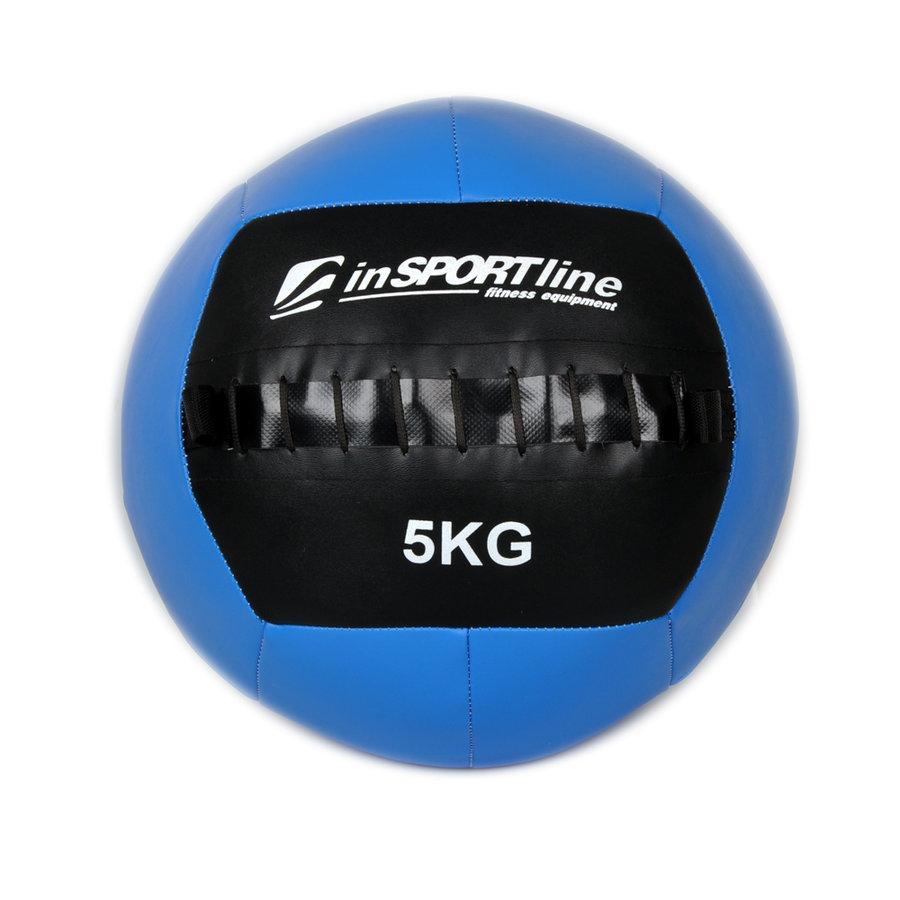 Medicinbal bez úchopů Walbal, Insportline - 5 kg