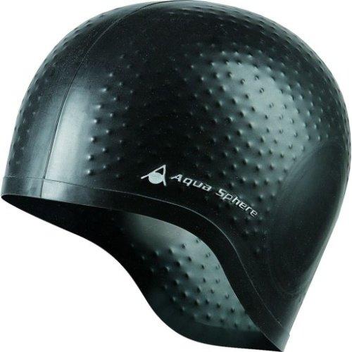 Černá dámská nebo pánská plavecká čepice Aqua Glide, Aqua Sphere